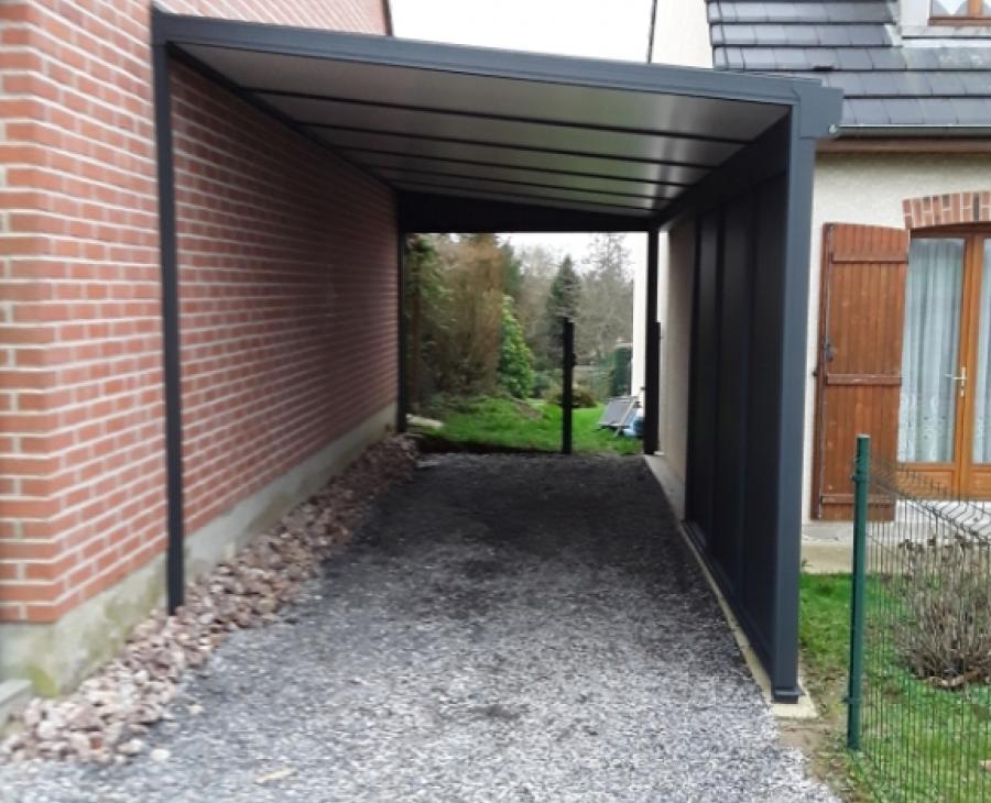 Carport à Fontaine-les-Vernins (02)